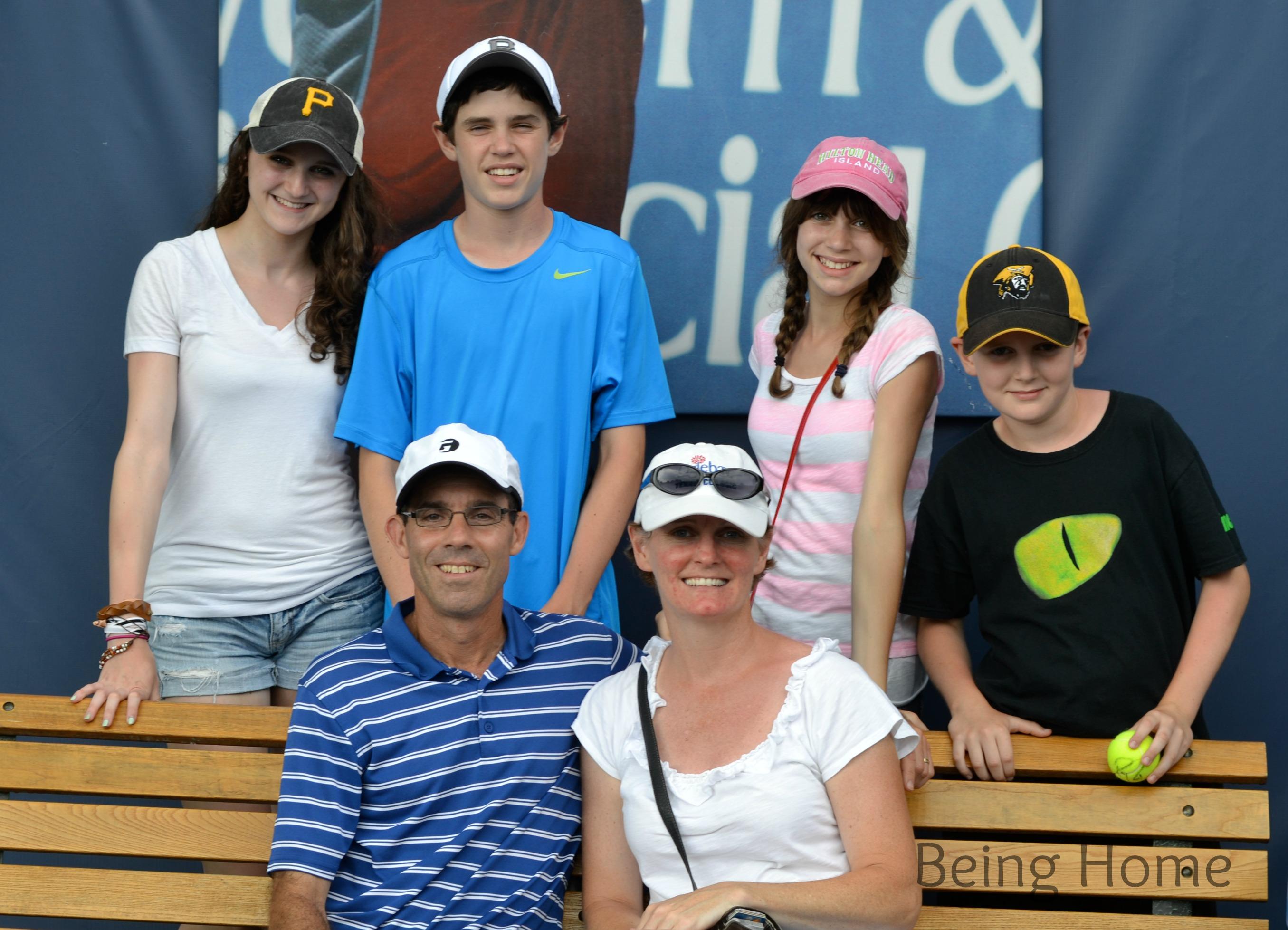 Cincy Tennis Family