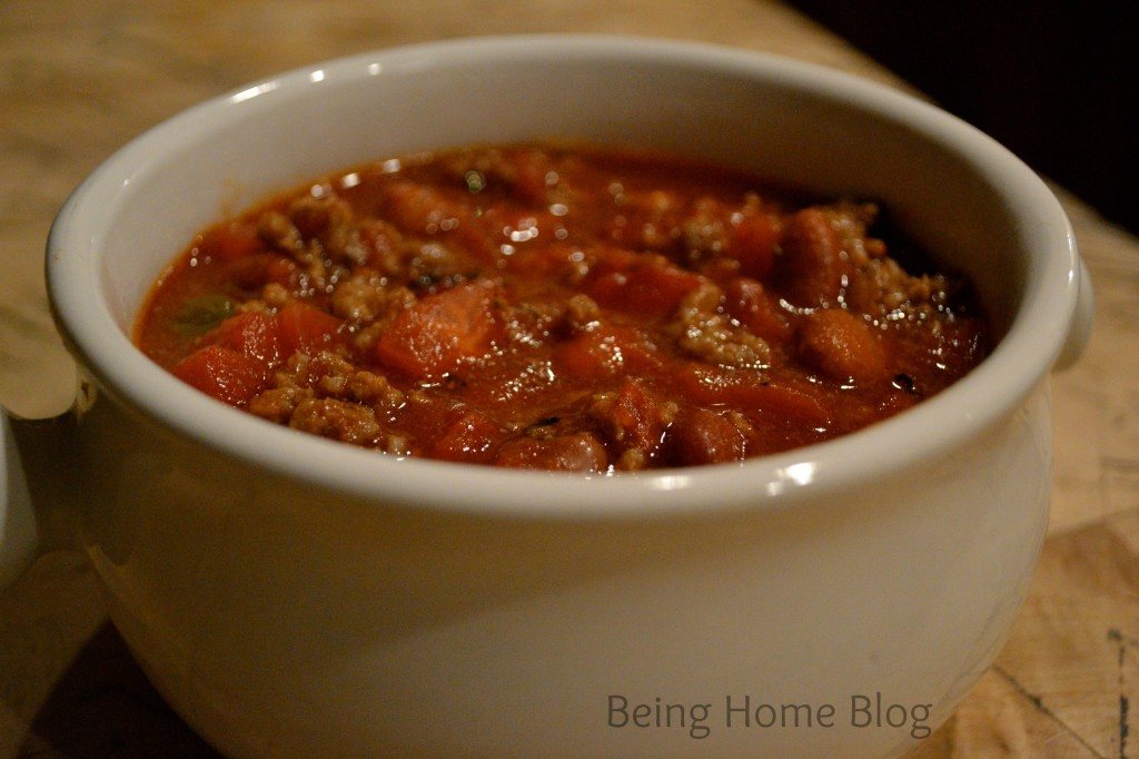 Quick and satisfying chili recipe
