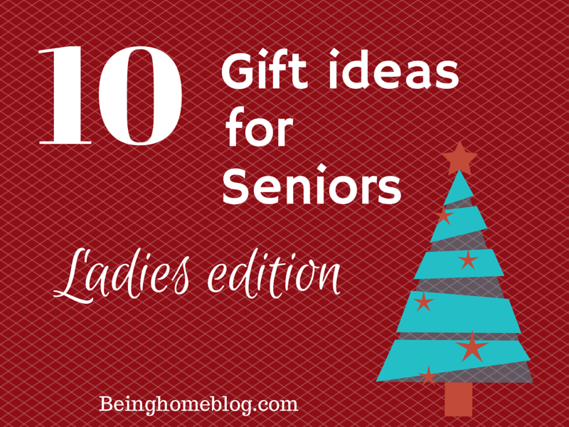 Gift guide for seniors who are no longer active #giftguide #seniors #ladies