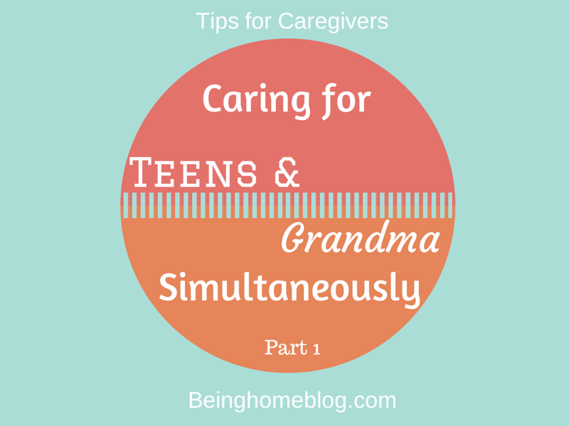 caregiving tips for the sandwich generation #caregiving #teens #sandwichgeneration #generationgap