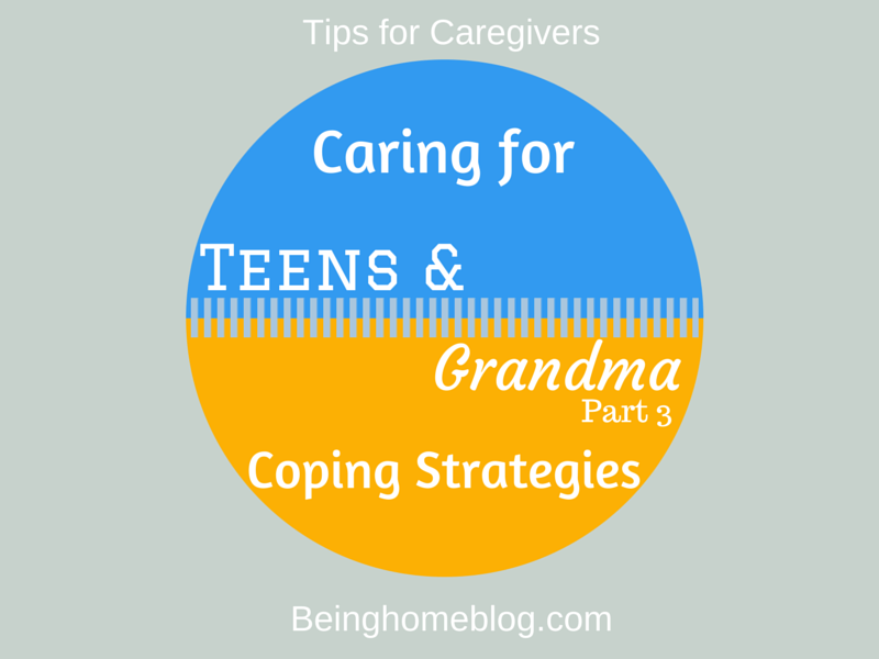 Sandwich generation #teens #caregiving #elderly #strategies