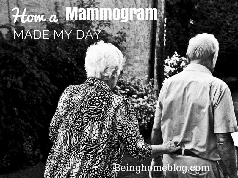 How a mammogram made my day