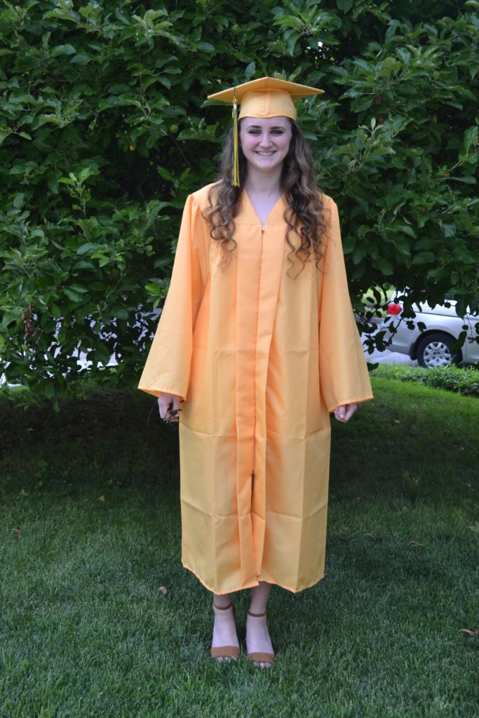 Hannah Phillips graduate