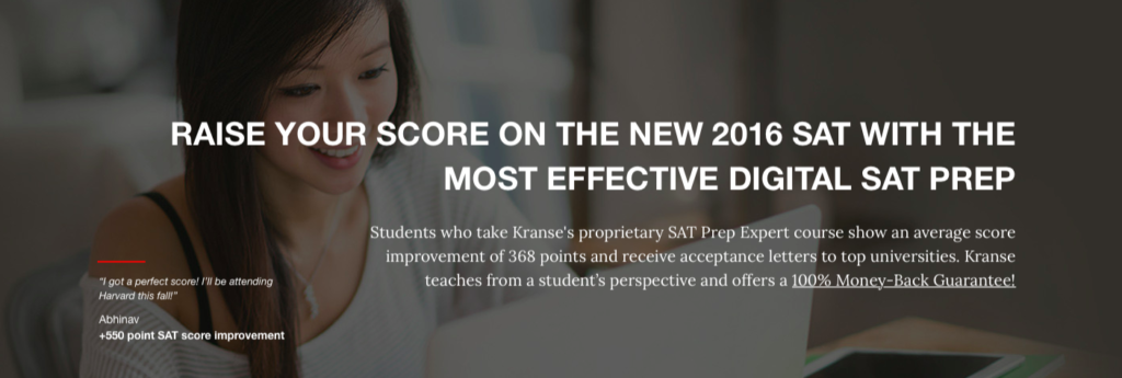 Krause Institute perfect SAT